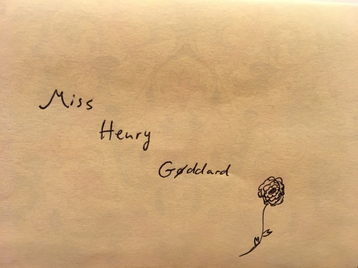 Mrs. Henry Goddard